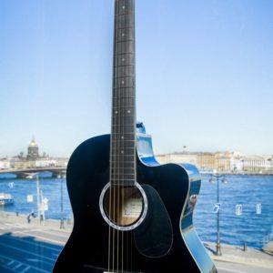 Акустическая гитара Naranda CAG240CBK