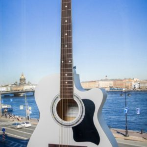 Акустическая гитара Carlos lf-39wh